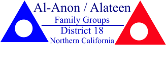 Al-Anon / Alateen Family Groups District 18 Northern California